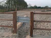 Brána Selektionssystem (detail)