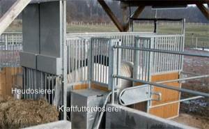 Kombinovaná stanice Horseking® Kombi - Abrufstation